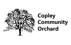Copley Community Orchard Tree Hortizontal Logo